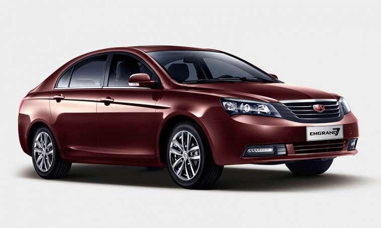 سيارة جيلي الصينية