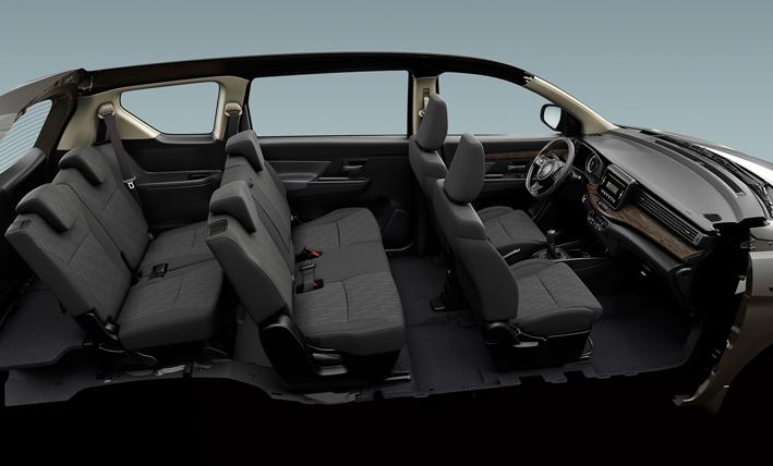 شكل سيارة سوزوكي أرتيجا موديل 2021 من الداخل