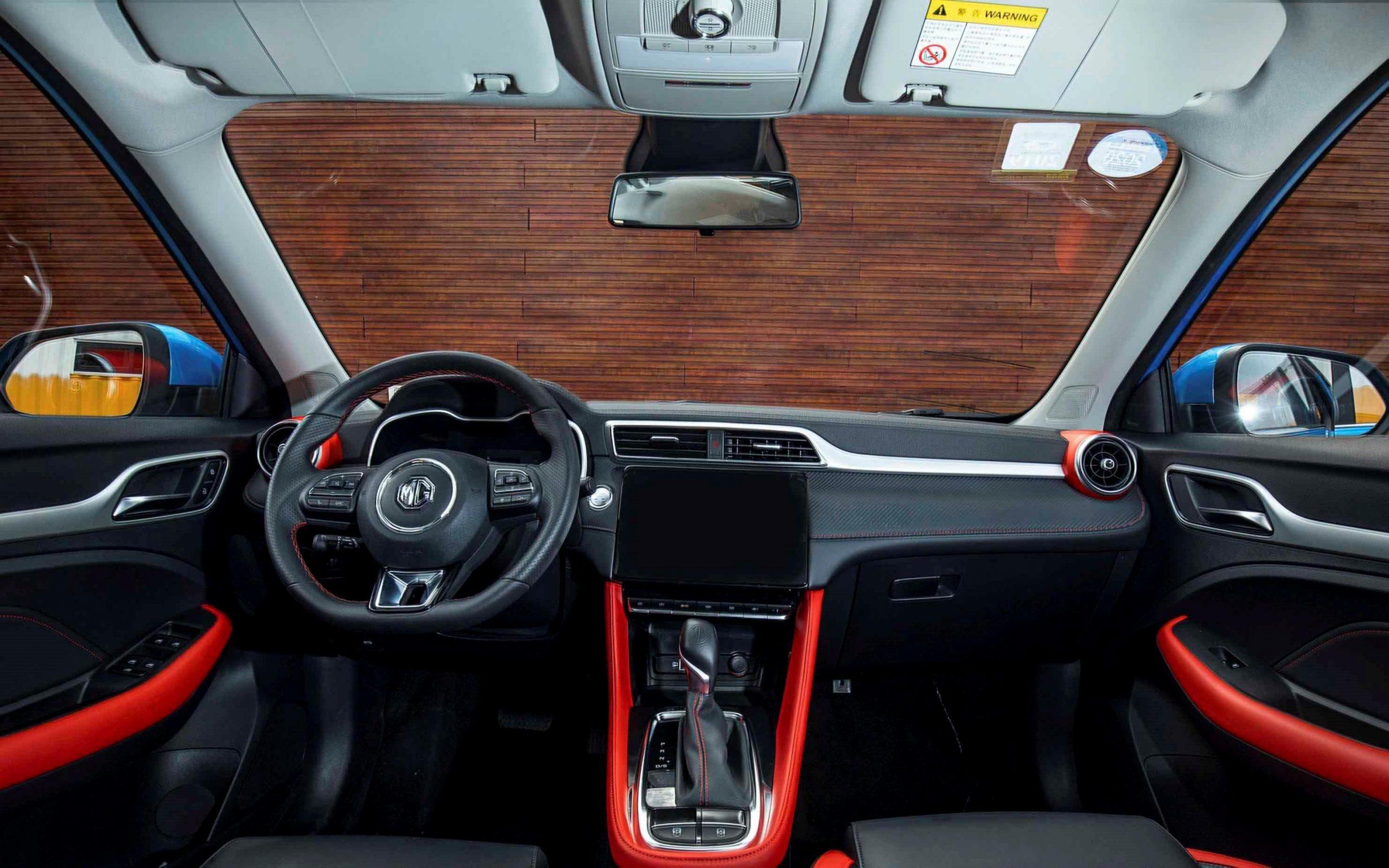 شكل سيارة سيارة إم جي ZST الجديدة من الداخل