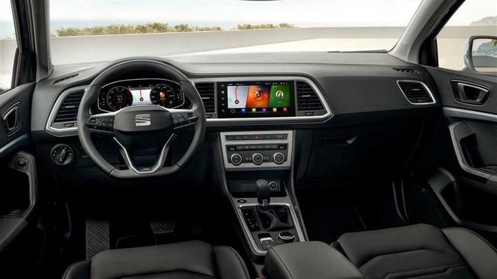 شكل سيارة سيات أتيكا موديل 2021 من الداخل