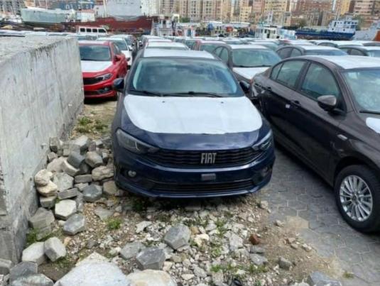 سيارة فيات تيبو فيس ليفت في الموانئ بإسكندرية